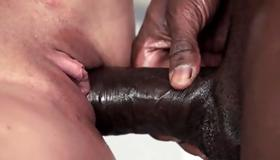 Watch dirty interracial fucking with black guy