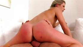 Filthy slut is drilled with heavy dick