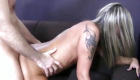 Great looking slut is posing hot here